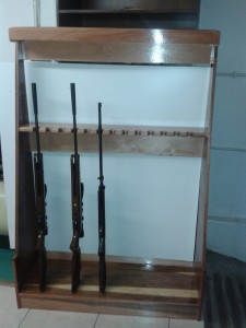 Rifle rack 1