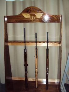Rifle rack 5
